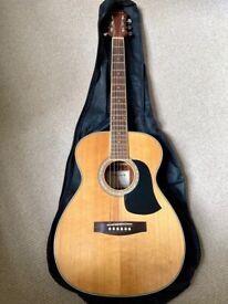 Aria AF-20N Acoustic Guitar (requires re-stringing)