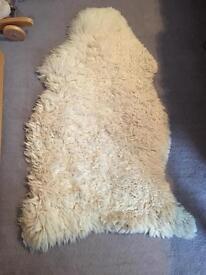 Sheep wool rug
