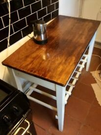 Kitchen work bench (two available) H100cm D60cm W120cm
