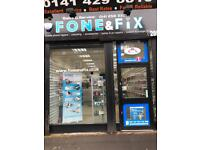 Phone shop for sale in Glasgow