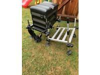Rt match fishing seat box