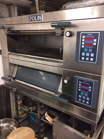 Used Bakery Equipment for sale in Cambridge- Oven, Bar Table and Bottle Cooler