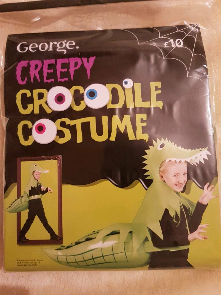 BN CROCODILE COSTUME