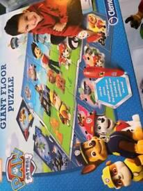 Paw patrol interactive jigsaw