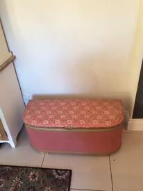 Ottoman and chair