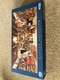 Gibsons jigsaw puzzle 636 piece little shoppers