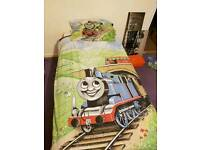 Thomas the tank bedding and curtains
