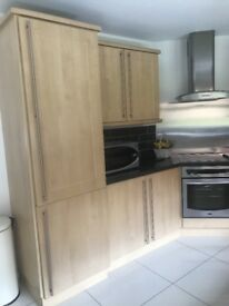 Large kitchen with appliances forsale.