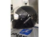 Shark S600 Black Motorcycle Full Face Helmet (size M)
