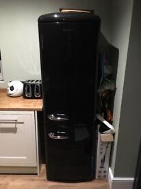 Gorenje fridge freezer (black) for sale