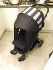 Sail pushchair