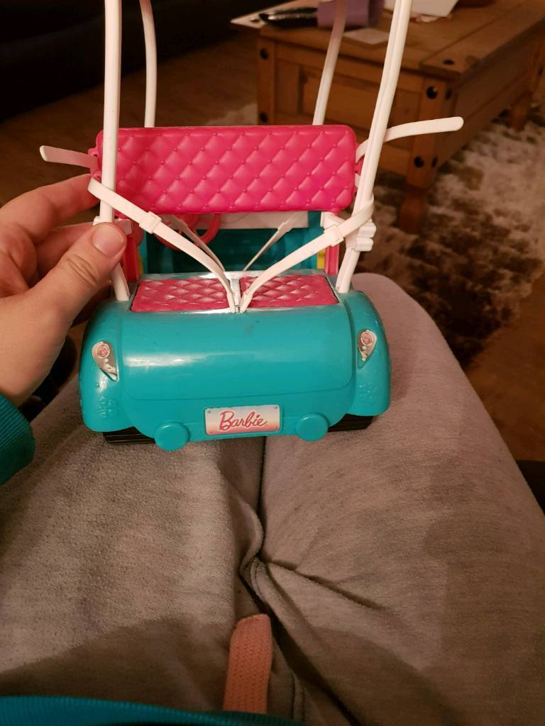 Barbie car and jeep