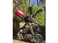Lovely Silver Cross Pioneer pushchair & pram