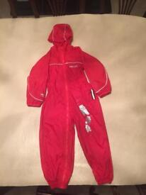 All in One Puddle Suit Age 4