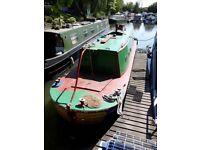 30ft steam tug/short boat