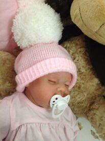 Sparkle Baby Nursery Reborn Baby Doll Emily Realistic Newborn Lifelike