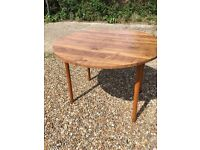 1960s style drop leaf Table