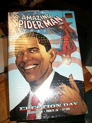 Marvel Amazing Spider Man Election Day Hc Hardcover