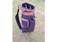 King Cobra Black golf bag.