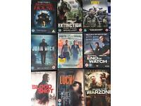 9 DVD's - Excellent condition!!!!