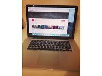 "Apple MacBook Pro 15"" C2D 4gb ram 120gb SSD - Very Good Condition"