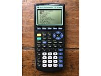 Texas Graphics Calculator with Book. CD and cable