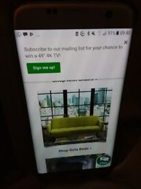 Designer 2 seater setee in lime green