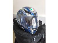 AGV K3 Motorcycle Helmet Size M, 57-58, 7 1/8-7 1/4