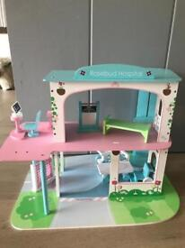 Wooden Toy Hospital