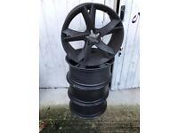 x4 Audi alloy wheels