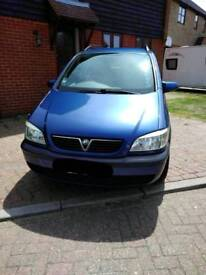 Vauxhall Zafira 52 reg 1.8 Petrol Comfort for sale