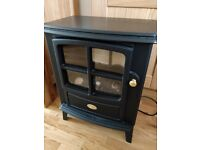 log stove effect electric fire