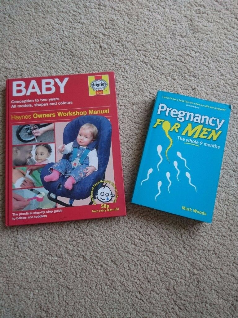 Set of 2 books - Pregnancy for Men and Haynes Baby Manual