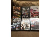 Fast and furious 1-6