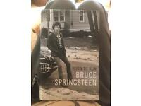 Bruce Springsteen Autobiography.