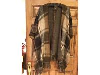 Brand New Poncho Style Gillet Size Small