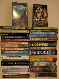 34 x Retro Classic Sci fi / Fantasy Books