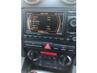 Audi s3 rnse stereo fully working with satnav disc