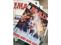 Mad Magazines 1989-1994