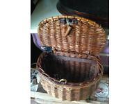 Old fishing basket