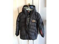 Feather down unisex jacket 8 y