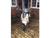 Scooter for Sale - Aprilia Mojito 125cc 2007 in Cream