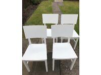 1 x Ikea dinning table x4 chairs