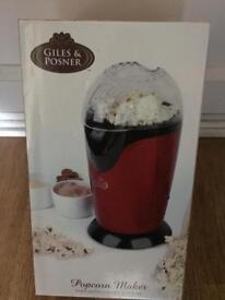 Giles and Posner Popcorn Maker