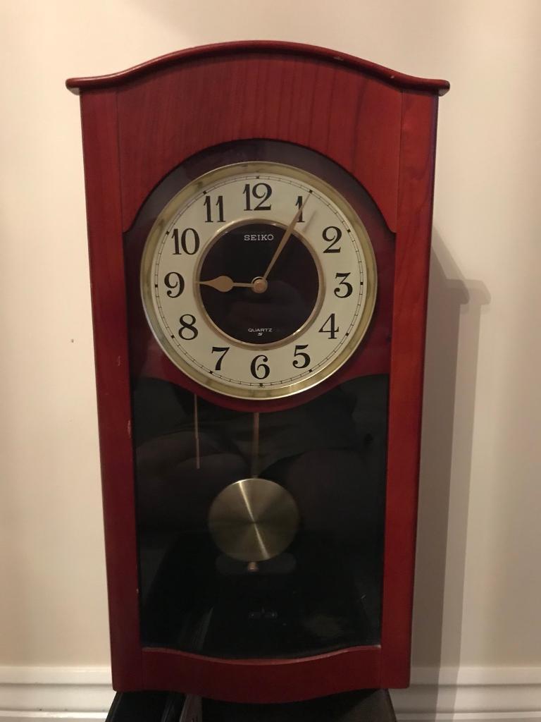 Pendulum Chiming Wall Clock In Nuneaton Warwickshire Gumtree