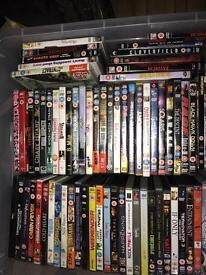 Over 260 dvd's