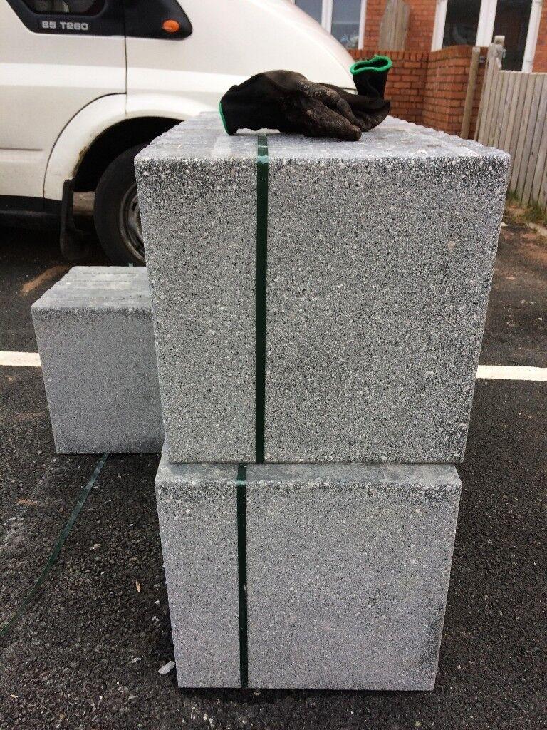 Grey Concrete Paving Slabs BARGAIN! 4sqm