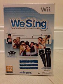 Wii 'We Sing'
