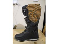 Fly Racing Maverick motocross boots size 11, worn once