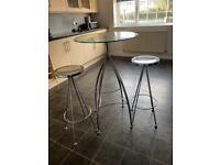 Hi table and 2 stools